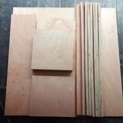 Customized Size Outdoor Hardwood Veneer Plywood High Bending Strength