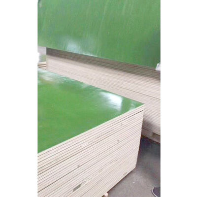 China High Bending Strength Plastic Laminated Plywood Sheet Environmental Friendly supplier