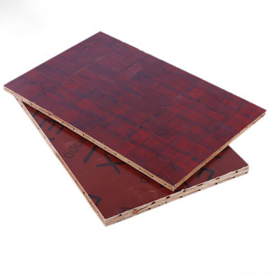 Building Construction 3mm Bamboo Plywood Sheets Film Covered  Wear Resistant