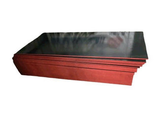Withstands Abrasion Film Faced Plywood Smooth Surface , Glossy And Hard