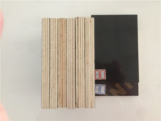 China Moisture Proof Phenolic Film Faced Plywood Board Poplar / Hardwood Core factory