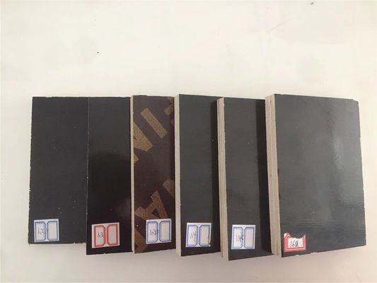 China Corrosion Resistance WBP Exterior Plywood / Black Phenolic Film Plywood distributor