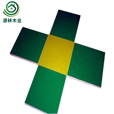 China Formwork Panel System Plastic Laminated Plywood Sheets Twice Hot Pressed factory