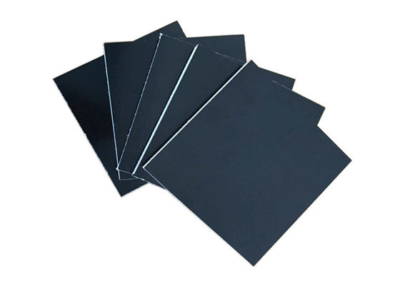 China Black Phenolic Plywood / Laminated Ply Sheets Strong Screw Holding Ability factory
